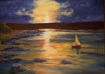 landscape art, landscape artist, portrait of landscape in oils, landscapes,Sea